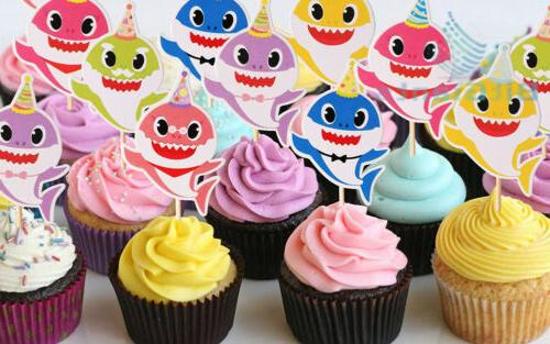 30 pieces Cupcake Toppers Party Supplies- Family Baby Shower...