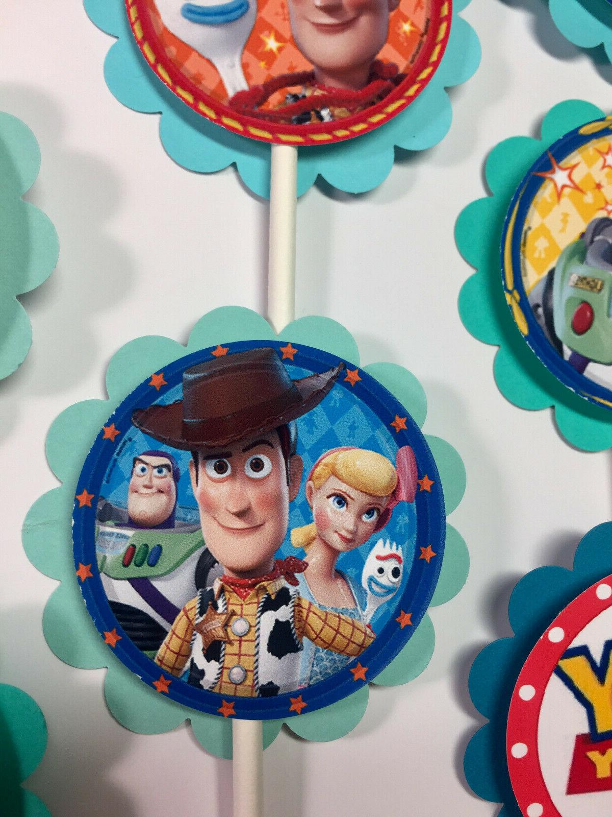 "30 ""Toy Story 4"" Dimensional Cupcake *Ready to"