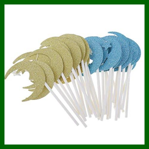 30Pcs Toppers Paper