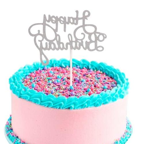 30PCS Birthday Cake Decor Party Supplies