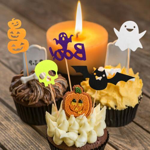 30pcs Halloween Cupcake Pumpkin
