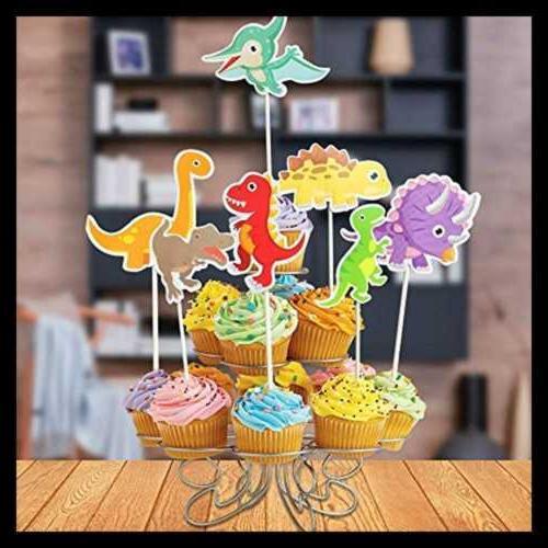 35 Dinosaur Cupcake Cake For Birthday Shower P