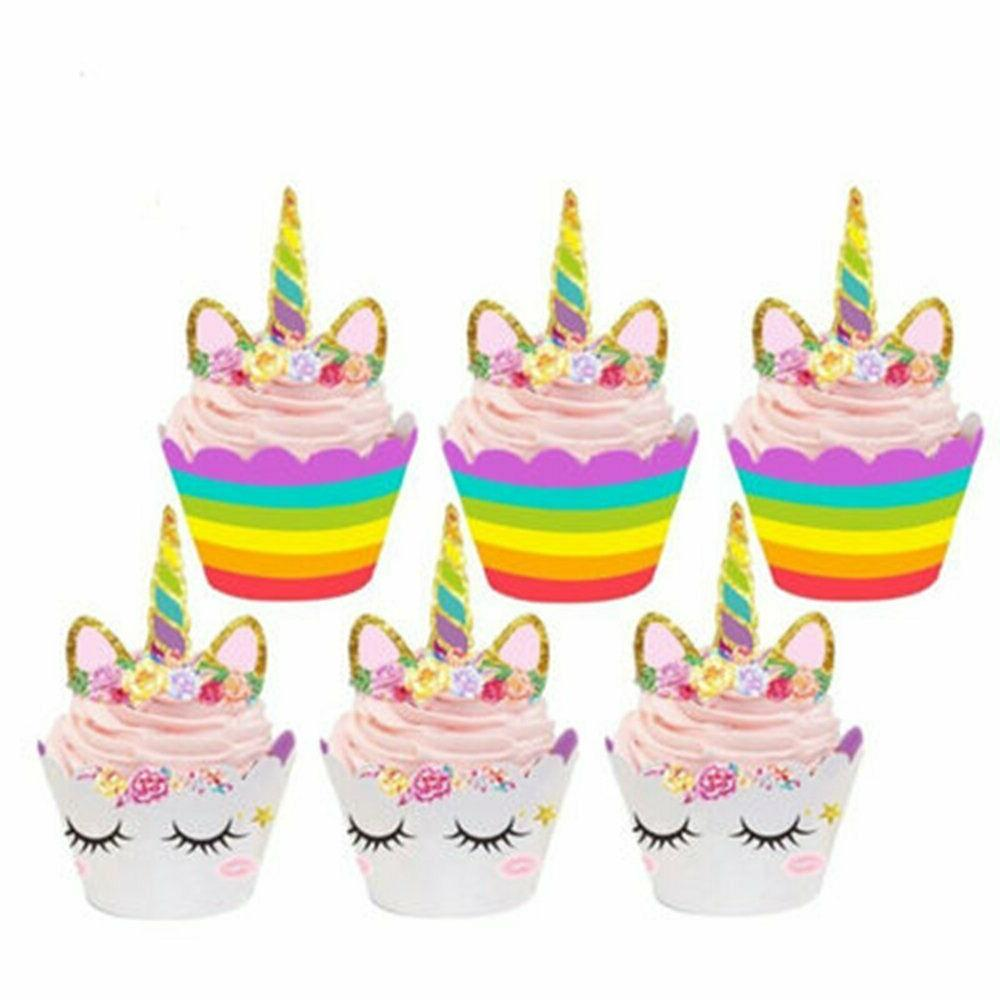 36pcs Toppers and Wrappers Kids Party