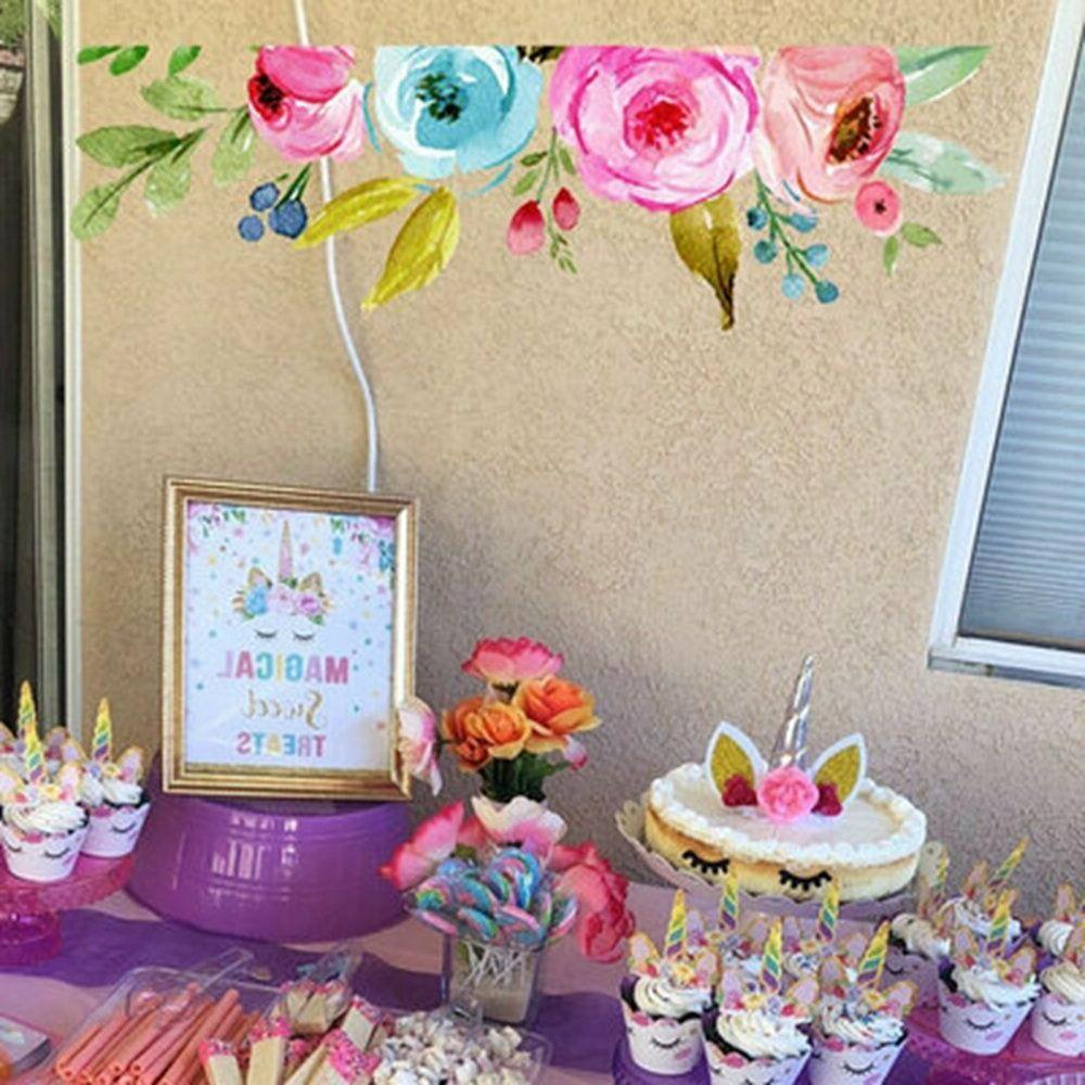36pcs Unicorn and Wrappers Birthday Party Decor
