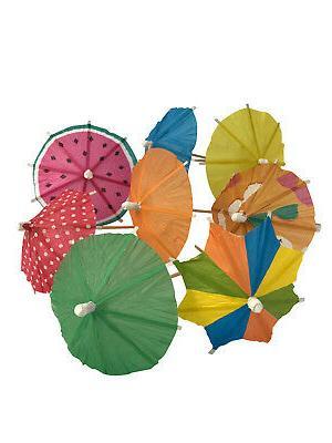 KingSeal Umbrella Parasol Cocktail - Packs 144