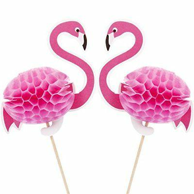 40 Pack Cupcake Toppers Cocktail Decoration For