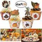 Tinksky 48PCS Durable Creative Turkey Unique Design Thanksgi
