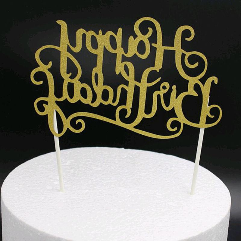 4Colors Cake Happy Birthday Decor Fashion