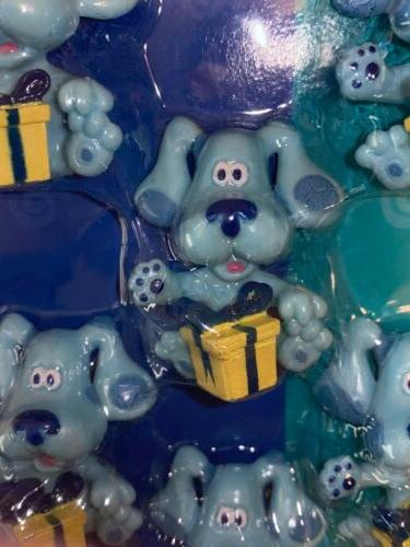 6 Pc Blue's Clues Party Toppers Nick