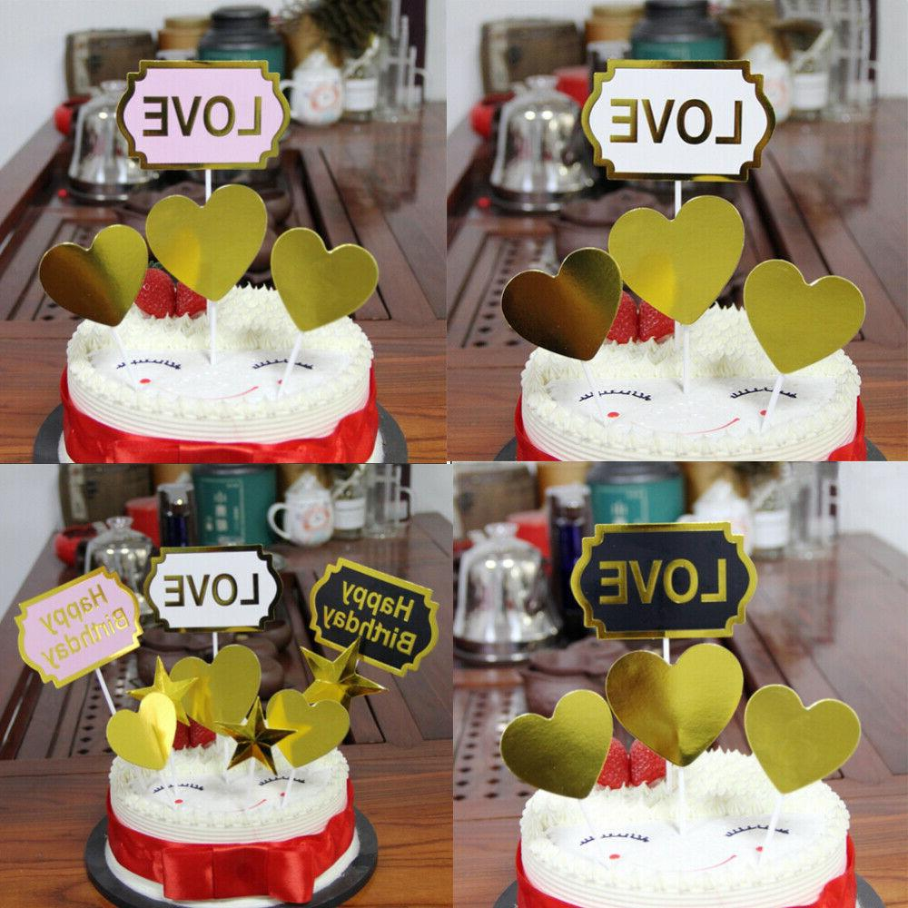 LOVE Letters Paper Cupcake for Party