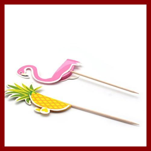 60 Party Supplies Cupcakes Toppers Cocktail Picks