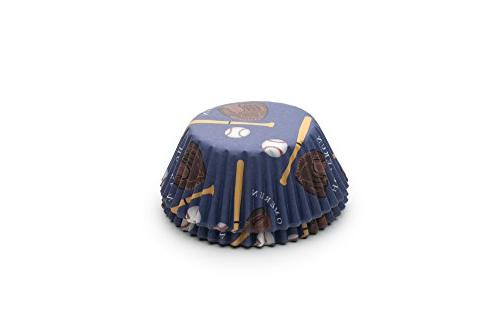 6991 baseball bake cups