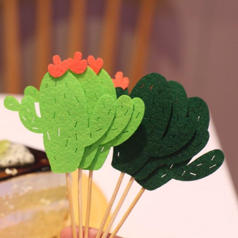 6pcs <font><b>Topper</b></font> Mini Cake Kids Birthday Decorating Supplies Baby