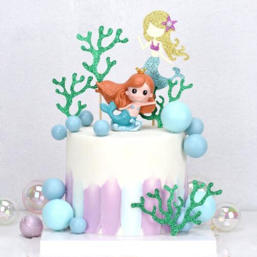 6PCS birthday Cake Toppers Cupcake Baby SE