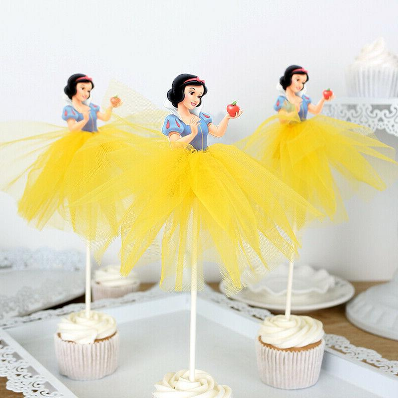 7pcs Toppers Cake Decorations Kids Birthday