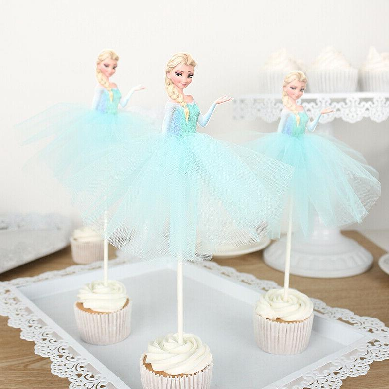 7pcs Toppers Cake Decorations for Kids