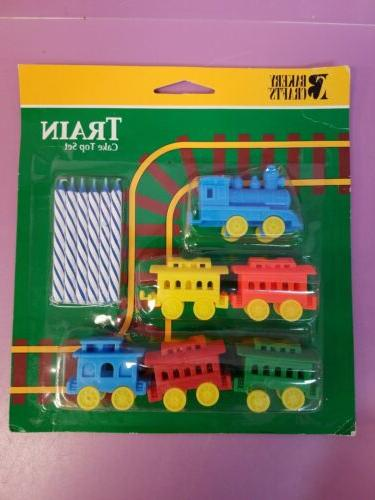 Oasis Supply Train Candle Holder Birthday Candles