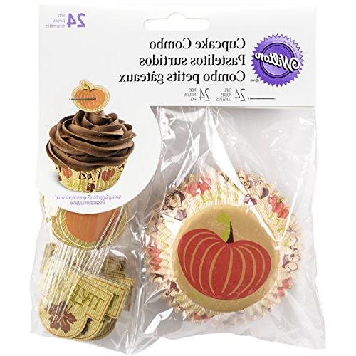 Wilton 415-3187 Cozy Fall Combo Pack, Assorted