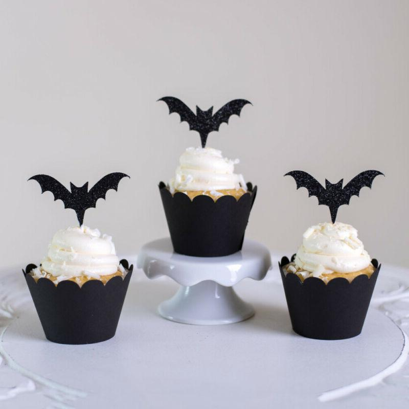 Accessory Wrappers Cupcake Decor Halloween