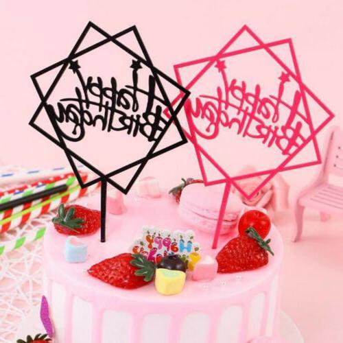 Decor Baking Cake Topper Card Multicolor