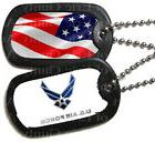 Air Force Military Dog Tags ~ Frosting Sheet Cake Topper ~ E