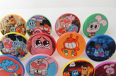 Amazing World Gumball cupcake toppers 12ct- goody loot,