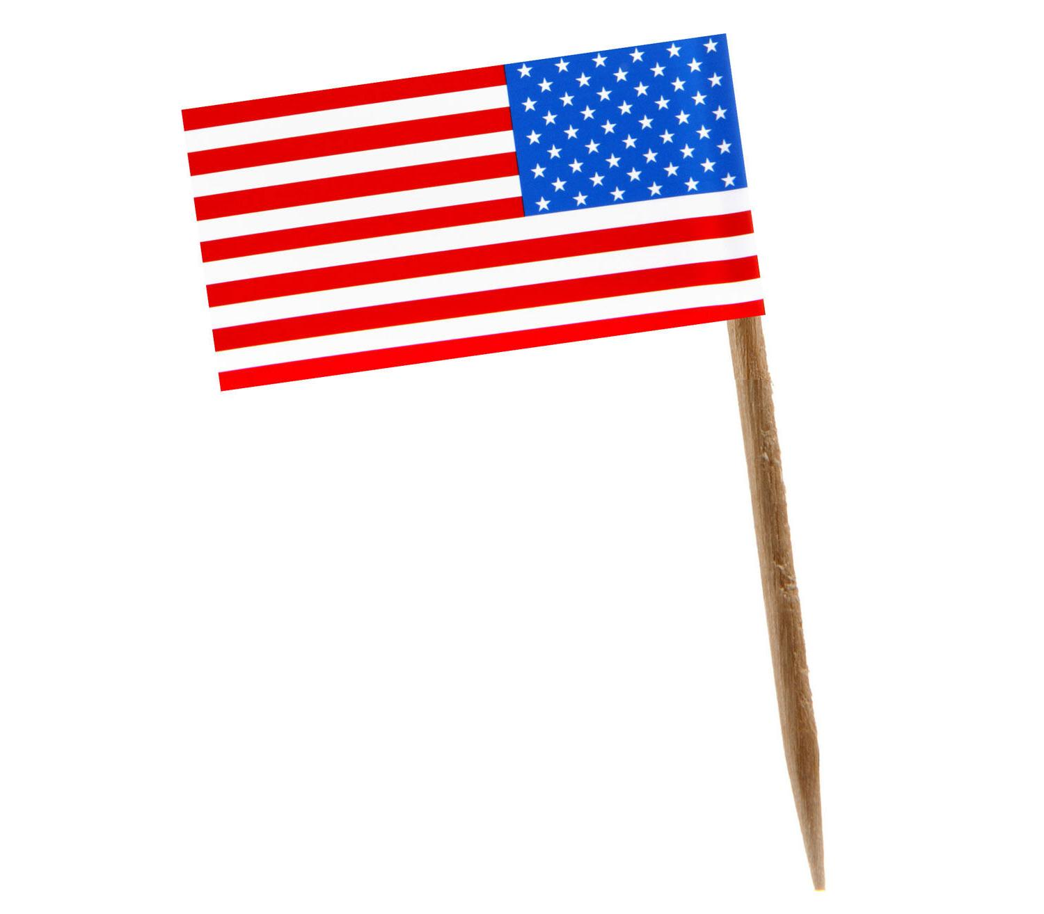 American Cupcake Toppers 100