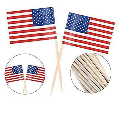American Flag Toothpicks Cocktail 100 C