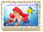 ARIEL The Little mermaid Image Edible Cake topper decoration