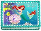 ARIELThe Little mermaid Image Edible  Cake topper
