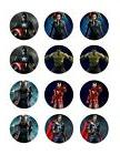 Avengers edible cupcake toppers frosting sheet decoration 12
