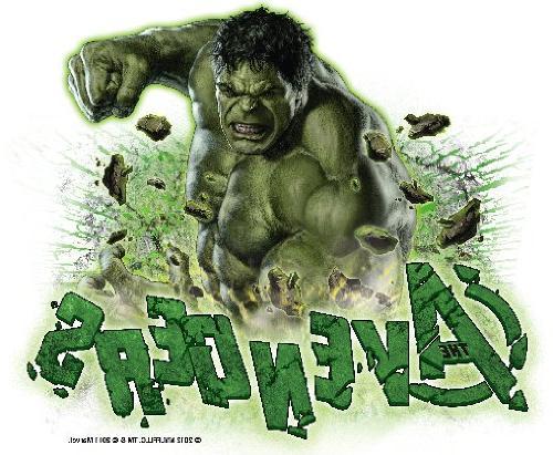 avengers incredible hulk decoration