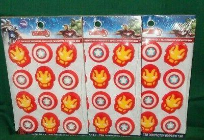 avengers sugar cupcake toppers cakedecorations 710 4110