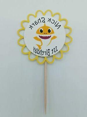 Baby Cupcake Toppers, Set 12