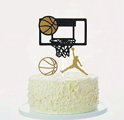basketball cake toppers cupcake