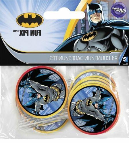 Batman Fun Picks 24pcs League