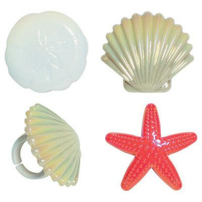 Beach Chair & Cake Topper Seashell Cupcake 14168-14177