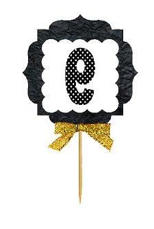 9th Birthday / Anniversary Gold Ribbon Hand Crafted Novelty