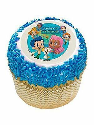 bubble guppies 2 and 34 edible cupcake