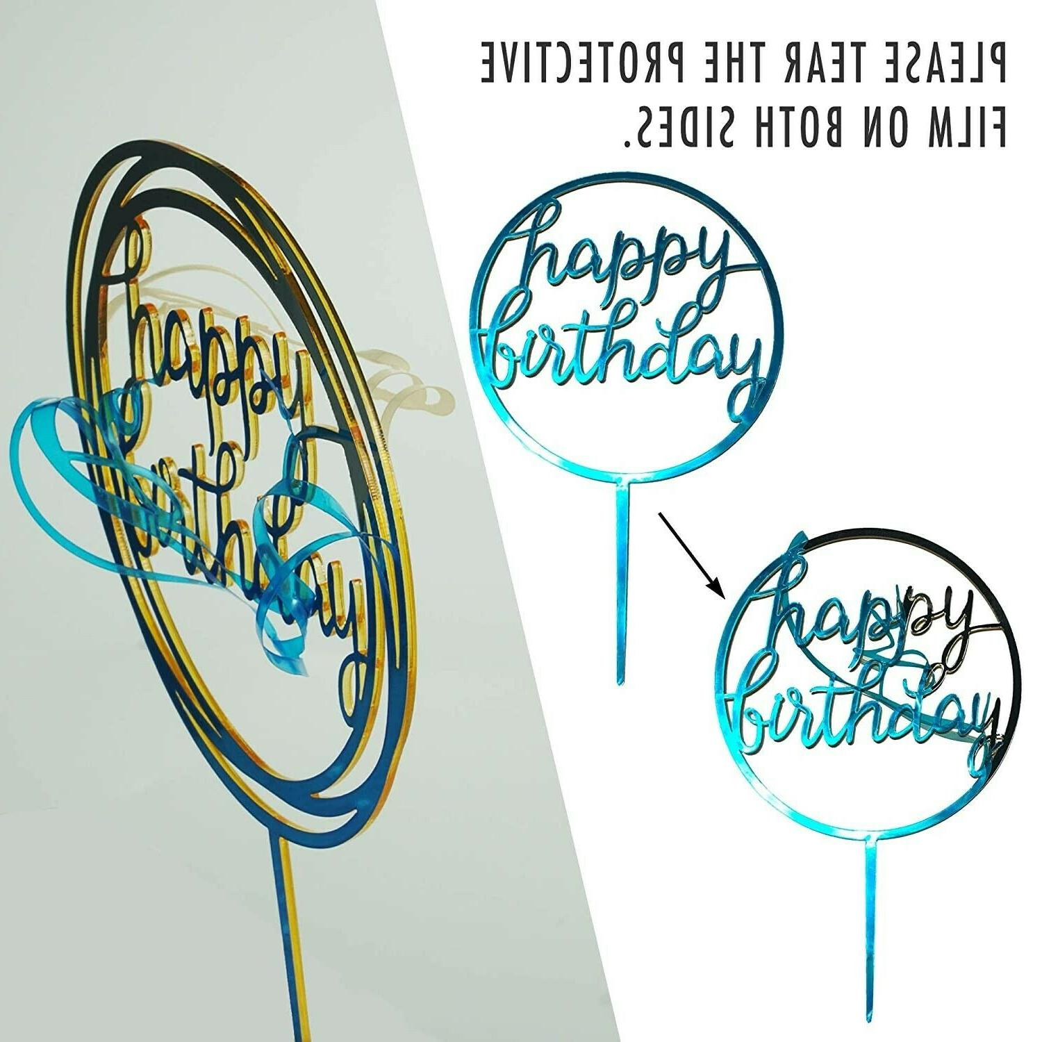 Cake toppers birthday - PARTY