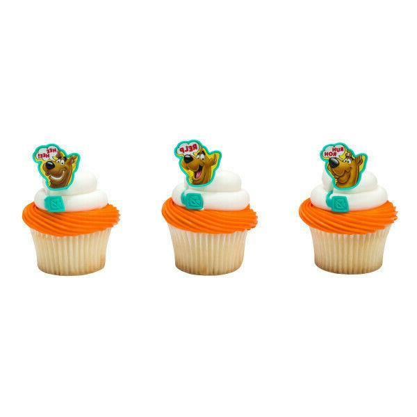 cake toppers new scooby doo cupcake rings
