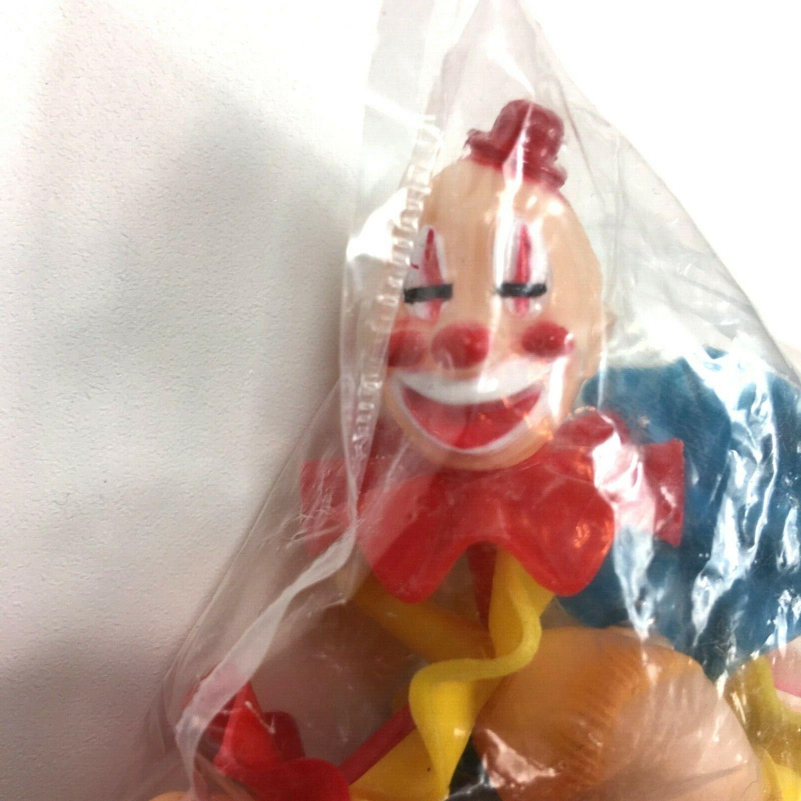 Wilton Clowns Picks Set 6 Vintage