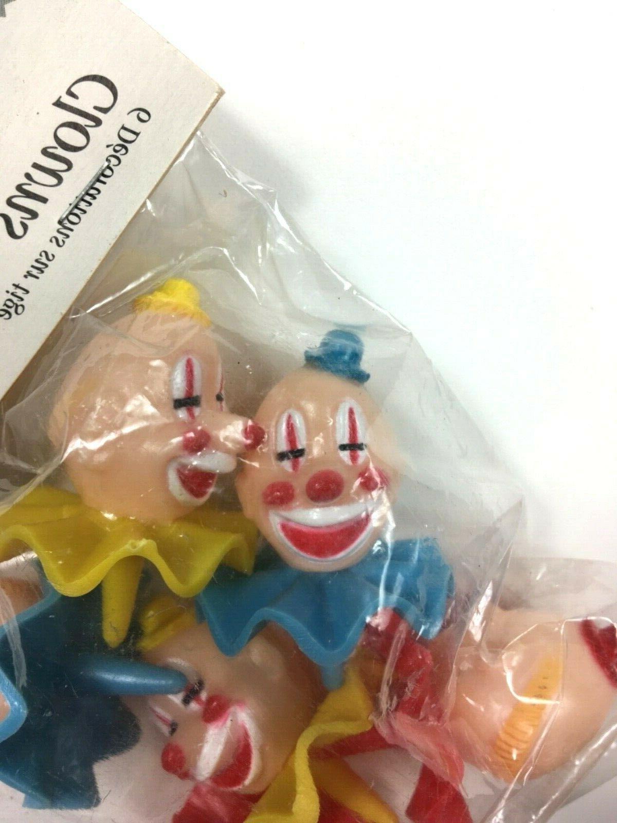 Wilton Tops Clowns Picks Vintage