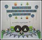 * CAMP OUT CAMPING WILDERNESS TEEPEE PERSONALISED Birthday P