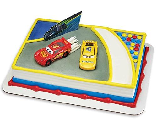 cars 3 ahead curve cake