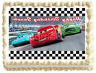 CARS MCQUEEN Image Edible Cake topper Party decoration