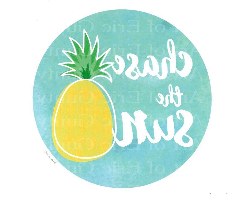 Chase the Sun Pineapple Summer ~ Frosting Sheet Cake Topper