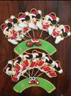 Christmas Mickey Mouse Claus Minnie Holiday Cupcake Toppers