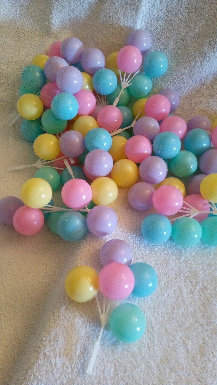 cluster balloon bouquets for birthday baby shower
