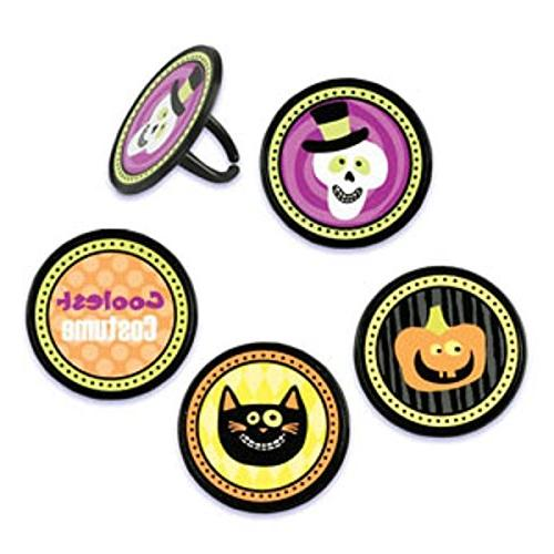 Oasis Supply Cupcake/Cake Decorating Costume Party Rings, 1